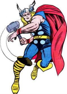 THOR by Jack Kirby (color)