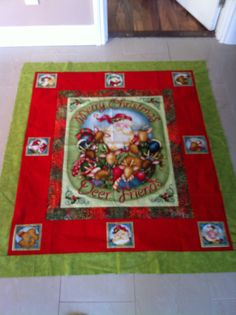 2012 Christmas quilt