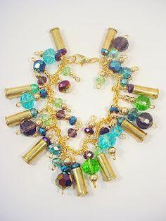 Deerwoman Designs...A post on my blog about my bullet jewelry....http://deerwomandesigns.blogspot.com/