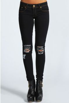 Loren Distressed #Ripped Knee Skinny #Jeans Get 7% cash back http://www.stackdealz.com/deals/Boohoo-com-Coupon-Codes-and-Discounts--/