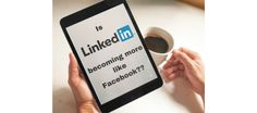 Is #LinkedIn becoming more like #Facebook? | LINKEDSUPERPOWERS For people that use social media, there is a clear distinction between LinkedIn and Facebook. They are both social media networks, but their purposes are very different. While Facebook was created to be a casual social media network where people find their colleagues, befriend each other, and share funny content and everyday news, LinkedIn was made to serve today's professionals.