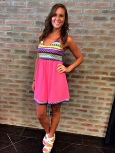 Woven By Fate Halter Top Dress $42.95  #fashion #cute #dress #womensfashion #summer