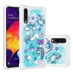 Samsung A 7, New Samsung Galaxy, Samsung Cases, Phone Cases, Unicorn Pattern, Box Packaging, Cell Phone Accessories, Glitter, Stars