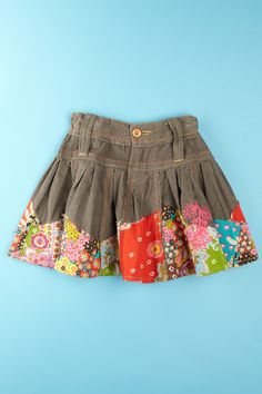 Mimi & Maggie  Swirly Patchwork Skirt