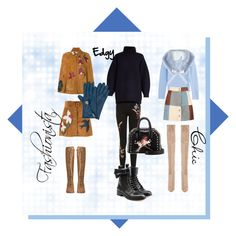"""""""Oh let it snow"""" by shaynagitelsauer on Polyvore featuring Kendall + Kylie, Michael Kors, Boohoo, RED Valentino, Topshop, Acne Studios, Henri Bendel, STELLA McCARTNEY and Miss Selfridge"""