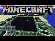 Minecraft Pocket Edition - How To Make An END PORTAL (Minecraft PE) - YouTube