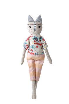 handmade cat doll soft toy