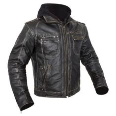 CUSTOM BILT - Drago Leather Motorcycle Jacket - Leather - Jackets - Biker - Cycle Gear