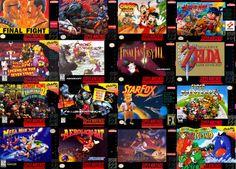 Fã reúne 9 horas de telas iniciais de todos os games já lançado para o Super Nintendo