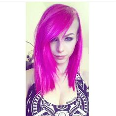 Amazing Bright Pink Hair from @limienatz  #pink #pinkhair #obsessedwithpink #beautiful #awsome #pretty