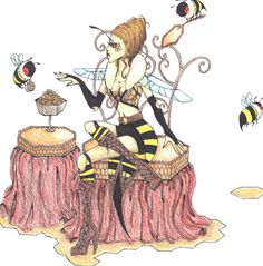 Queen Bee by PunkToaster