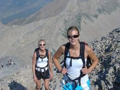 Hikers test gear and train at altitude on Utah's Mt. Timpanogos.