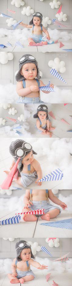 Bebê aviador