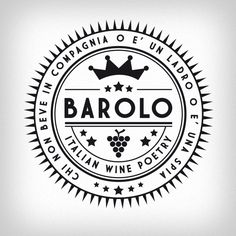 Barolo Italian Wine Poetry.