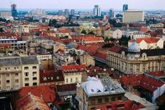 Good article on Zagreb! | Pictured: Looking out over the centre of Zagreb from the vantage point of Lotrscak Tower in the medieval area of Gradec. Lonely Planet Images