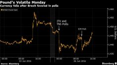 Pound Falls, Volatility Jumps as Polls Show Momentum for Brexit - Bloomberg Public Opinion, Rest, Fall, Autumn, Fall Season