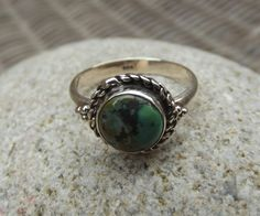 925 sterling silver ring turquoise silver ring di silveringjewelry