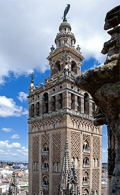 Seville Cathdral  (Cathedral of Saint Mary of the See)  Seville, Spain    The Cathedral of Seville in Andalucia is the largest Gothic cathedral and the third-largest church in the world