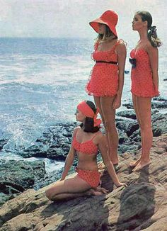 1960's bathing suits.