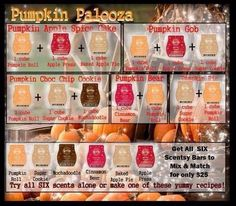 Who's favorite scent is pumpkin?? Make new scents with these! http://cort.scentsy.us https://www.facebook.com/scentsy.krall