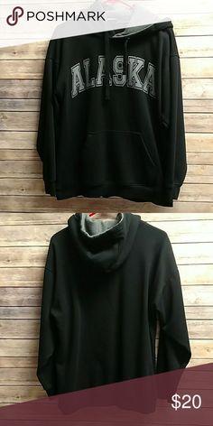 Alaska Hoodie Thick and warm. Worn once. Good condition. Shirts Sweatshirts  & Hoodies