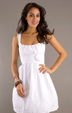 Straps Neck Ruched White Short Prom Dress