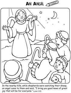 Welcome to Dover Publications: The Nativity Activity and Coloring Book
