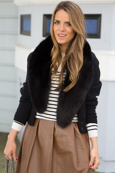 Leather & Stripes \\ Julia Engel, Gal Meets Glam