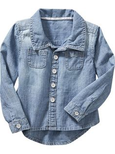 Hi-Lo Chambray Shirts for Baby Product Image