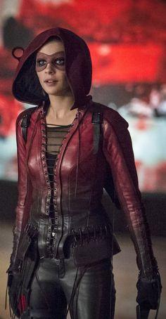 Arrow  - Thea Queen (Speedy) She can kick ass...I LOVE THAT!