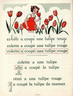 j'ai appris à lire avec Colette et Rémi de bons souvenirs