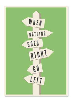 Illustrative Quote Poster Design #posters #design #quotes