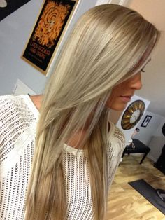 3 hrs and a full head of foils made this blond look natural and multidimensional. Beautiful! By Clare at Foiled Again Salon  Buffalo NY