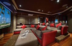 cool movie room ideas cool movie room ideas in theatre movie themed decor wall art film themed accessories furniture etc tips for your home basement home theater room ideas Movie Theater Rooms, Cinema Room, Movie Rooms, Theatre Rooms, Sweet Home, Home Theater Design, Entertainment Room, My New Room, My Dream Home