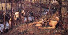 Naiad, Yunan Mitolojisinde akarsularda yaşayan nemf (nymph) türüdür.  Naiadlar, çeşmelerin, nehirlerin ve kaynakların perileridir. Tatlı sularda yaşarlar ve insanlar gibi ölümlülerdir.Bir Naiad, John William Waterhouse eseri, 1893: bir su nemfi uyuyan Hylas'a yaklaşırken