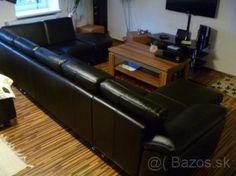 Kožená sedacka v tvare U (180x350x210) - 1