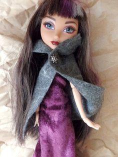 Barbie Monster High Ever After High grey by BLSforDollSize on Etsy