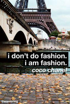 Eat, sleep, breathe fashion? #chanel #fashion #style #paris