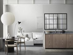 A recent discovery thanks to the amazing styling work of Lotta Agaton Interiors , Vallonia is a Swedish interior design brand renowned fo. Swedish Interior Design, Interior Styling, Pella Hedeby, Architecture Design, Stil Inspiration, Interior Windows, Living Spaces, Living Room, Light And Space