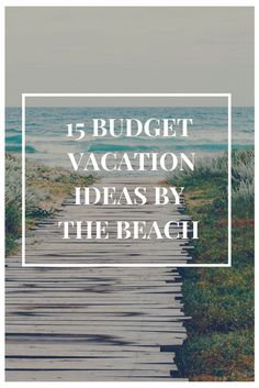 Planning a vacation that's both budget-friendly and by the beach? We've rounded up 15 top U.S. locations where you can get your dream beach getaway without breaking the bank. Cheap Beach Vacations, Beach Vacation Rentals, Need A Vacation, Beach Trip, Vacation Trips, Vacation Style, Beach Travel, South Beach Florida, Florida Hotels