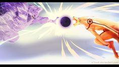 Anime Naruto  Kyūbi (Naruto) Susanoo (Naruto) Wallpaper