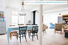 Home Tour: Colourful Country, Scandi Style – Bright.Bazaar