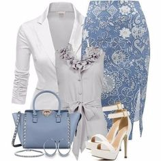 Stylish Work Outfit Ideas for Spring & Summer 2017 Source by work outfits Stylish Work Outfits, Classy Outfits, Chic Outfits, Beautiful Outfits, Spring Outfits, Fashion Outfits, Womens Fashion, Fashionable Outfits, Skirt Outfits