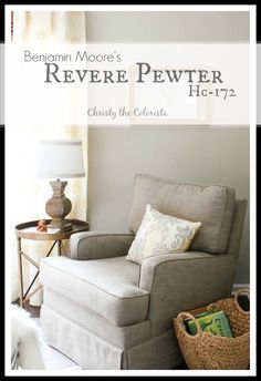 Everything you've ever needed to know about the color Revere Pewter!  Color of the Week: Revere Pewter