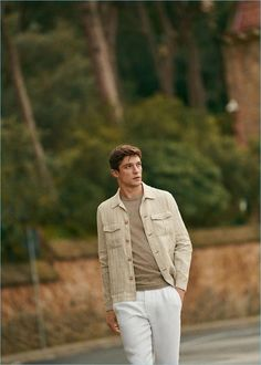 1e9aaef74b5d Alexis Petit Dons Summer Style by Mango Man. Spring Summer 2018Menswear ModelsMens ...