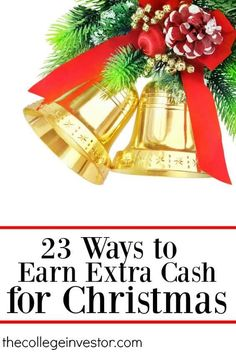 Looking for extra cash this holiday season? Here's some ideas! Earn Extra Income, Earn Extra Cash, Making Extra Cash, Extra Money, Earn More Money, Ways To Save Money, How To Make Money, Money Tips, Christmas On A Budget
