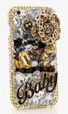 The Baby Design crystals bling case made for iPhone 6 / Plus Bling Phone Cases, Diy Phone Case, Cute Cases, Cute Phone Cases, Iphone 4, Iphone Cases, Htc One M9, Crystal Decor, Gifts For Photographers