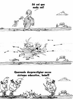 Quino - Gente en su sitio (People in their Place, Drawing Sketches, Drawings, Argentine, Humor Grafico, Calvin And Hobbes, Amazing Adventures, Satire, Funny Comics, Caricature