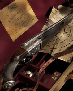 Westley Richards .470 Nitro express Double Rifle (Photo Credit D Zoetrope) - http://www.RGrips.com a work of art