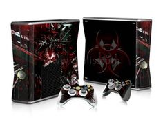 Autocollant skin Xbox 360 slim - Resident Evil 4